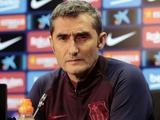 Вальверде: «Ветер мешал нам в матче с «Леганесом»