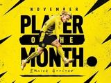 Холанд — лучший игрок месяца в бундеслиге