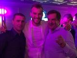 «Динамо» отметило чемпионство в ресторане (ФОТО)
