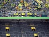 Жест дня: футболисты «Боруссии» подошли к пустой трибуне и поблагодарили болельщиков (ФОТО)