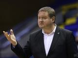 Головний тренер збірної України з баскетболу Мурзін подав у відставку