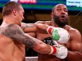 Усик досрочно победил Уизерспуна и стал официальным претендентом на пояс WBO