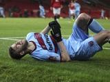 Ярмоленко травмировался в очередном матче за «Вест Хэм»
