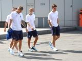 Традиционная прогулка перед матчем (ФОТО)