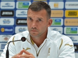 Андрей Шевченко обнародовал состав сборной Украины на ближайший сбор