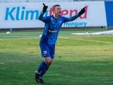 Артем Фаворов снова забил гол в чемпионате Венгрии. Во втором туре подряд (ВИДЕО)