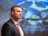 Мэр Киева Виталий Кличко поздравил киевское «Динамо» с выходом в Лигу чемпионов