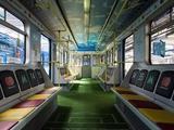 В киевском метро появился «вагон-стадион» (ФОТО)