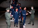 Сборная Испании прошла паспортный контроль в Борисполе прямо у трапа самолета (ФОТО)