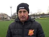 Сергей Лавриненко: «Перед «Ингульцом» задача выхода в УПЛ стоит. Но это не говорит о том, что мы готовы к Премьер-лиге...»