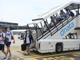 «Динамо» прибыло в Швейцарию (ФОТО, ВИДЕО)