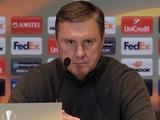 «Челси» — «Динамо» — 3:0. Послематчевая пресс-конференция