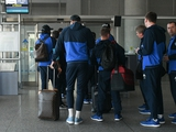 «Динамо» прибыло в Афины (ВИДЕО)