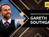Гарет Саутгейт признан тренером года в Англии