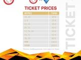 Билеты на матч «Олимпиакос» — «Динамо» от 20 евро, для наших — 25 евро (ОБНОВЛЕНО)