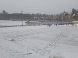 Опубликовано фото поля, на котором состоится матч «Рух» — «Десна» (ФОТО)