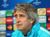 Мануэль Пеллегрини: «Мы доминировали с первой и до последней минуты»
