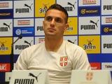 Душан Тадич: «Наши футболисты находятся в хорошей форме. Постараемся победить во Львове»