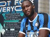 Официально. «Интер» подписал Лукаку за 65 млн евро