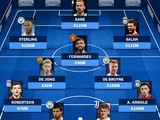 Сборная самых дорогих игроков, которые играли бы в Суперлиге (ФОТО)