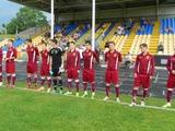 Клуб украинской второй лиги распустил команду по СМС