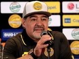 Марадона — об игре сборной Аргентины: «Я не смотрю фильмы ужасов»
