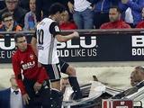 Хавбек «Валенсии» разбил табло для замен после удаления (ФОТО)