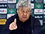 «Динамо» — «Вильярреал» — 0:2. Послематчевая пресс-конференция. Луческу: «Счёт не по игре»