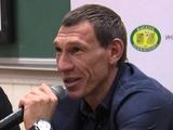 Игорь Шуховцев: «Об уровне футбола «Зари» можно судить по встрече чемпионата с «Динамо»
