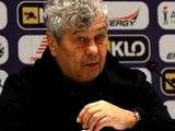 «Александрия» — «Динамо» — 1:2. Послематчевая пресс-конференция. Луческу: «Позже я хочу пересмотреть гол, который аннулировали»