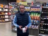 Съёмка на Оскар! Алиев устроил цирк прямо в супермаркете (ВИДЕО)