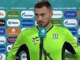 Георгий Бущан: «Я не считаю себя героем матча»