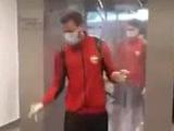 В России команды проходят на стадион через «дезинфекционный тоннель» (ВИДЕО)