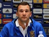 Андрей ШЕВЧЕНКО: «Цыганков с Турцией и Косово, скорее всего, сыграть не сможет»