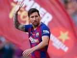 Первая тренировка «Барселоны» прошла без Месси