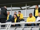Тренировку «Динамо» посетили почетные гости (ВИДЕО)
