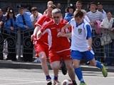 Сборная ГАИ будет играть в футбол на Майдане