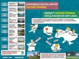 100 дней до старта Евро-2020: карта сборной Украины и десять важных фактов (ИНФОГРАФИКА)
