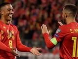 Бельгия стала первой сборной, которая пробилась на Евро-2020