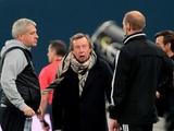 Экс-тренер киевского «Динамо» был удален со скамейки уже на 25-й минуте