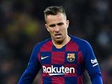 «Барселона» не пустила Артура на матч с «Наполи»