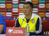 Главный тренер Казахстана: «В матче с Польшей мы потеряли два очка»