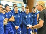 «Динамо» провело восстановительную тренировку после двух игровых дней (ФОТО)