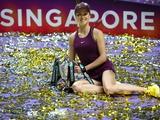 Еліна Світоліна тріумфувала на підсумковому турнірі Жіночої тенісної асоціації (WTA).(видео)
