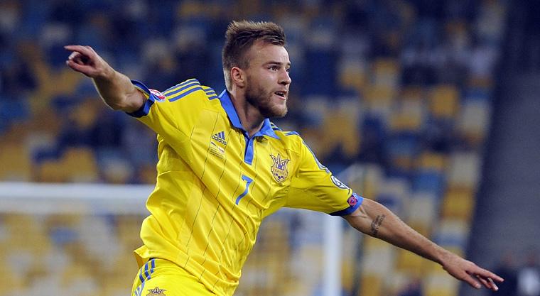 Андрей ярмоленко лучший нападающий