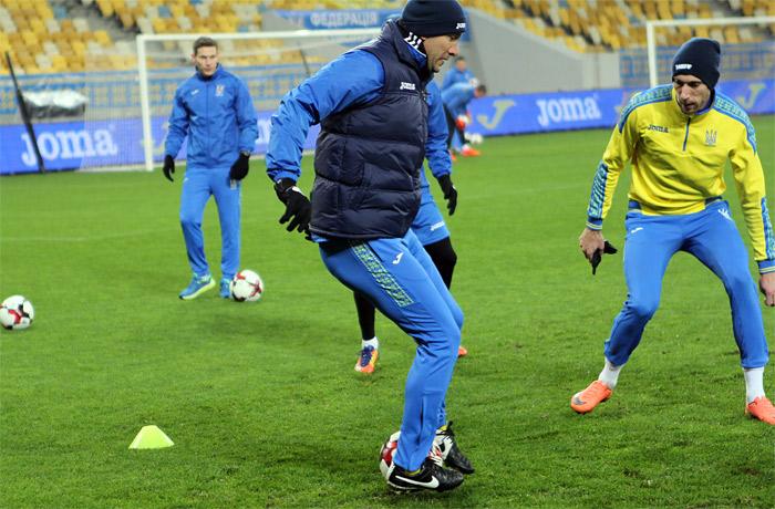 Тренировка сборной Украины во Львове: ФОТО, ВИДЕО