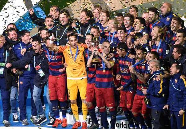 Барселона клубный чемпион мира видео