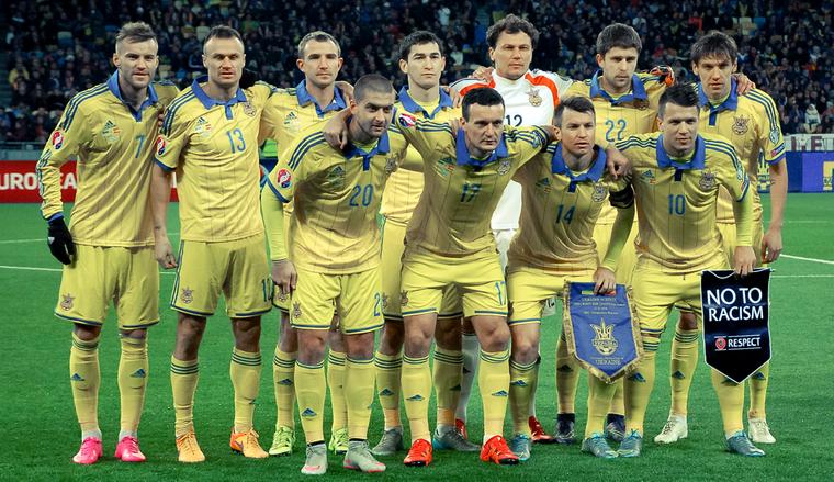 Украина осталась 30-й врейтинге ФИФА