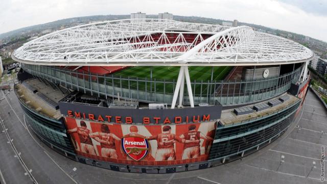 Второй стадион лондонского арсенала