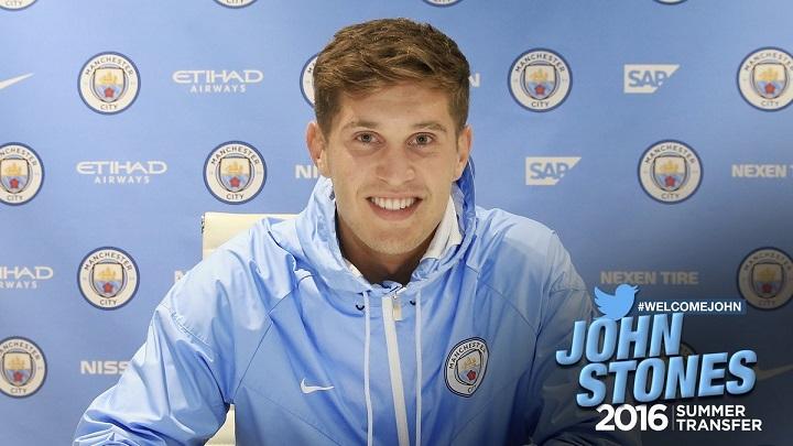 Джон Стоунз перешел в«Манчестер Сити»